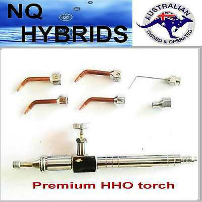 Hydrogen  Powered Mini  Gas Torch.. Torch.in Box With Assorted Tips. Detailed