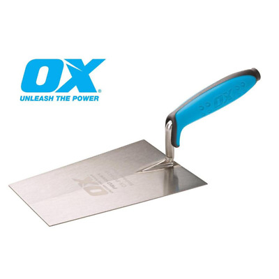 "OX PRO Tools 7"" / 180mm Bucket Trowel - Stainless Steel OX-P018418"