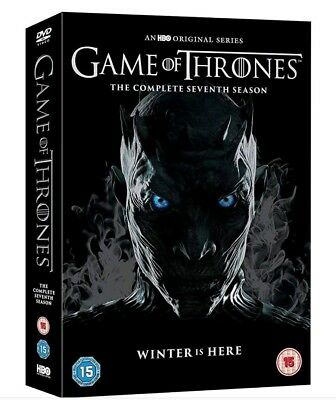 New & Sealed Game Of Thrones Season 7 Dvd Box Set Complete Region 2 Free Post