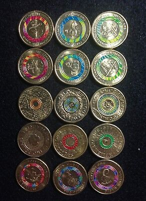 (16) X Rare $2 Australian Coins Includes Lest We Forget - Eternal Flame $2 Coin