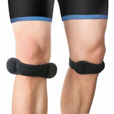 2 Pack Jumpers Runners Knee Strap Support Band Sports Patella Tendinitis Brace