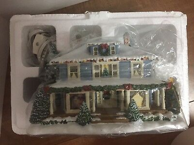 """Hawthorne Village Norman Rockwell Lighted """"Welcome Home""""  2002  NIB, 79539"""