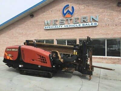 2014 Ditch Witch JT20 Crawler Directional Drill