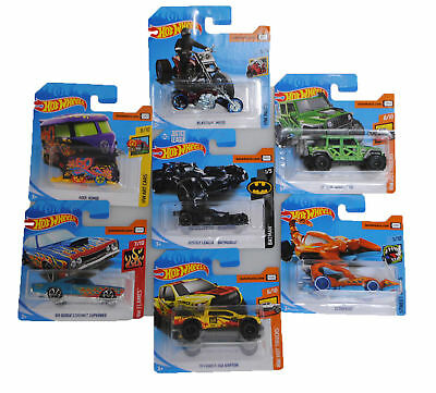 10x Random Hot Wheels Car Toys Legends Of Speed 1 64 Cars Kids Boys Brand New