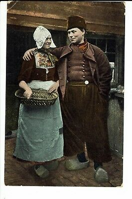 CPA-Carte postale-Pays Bas - Habits traditionnels -1907 - S796