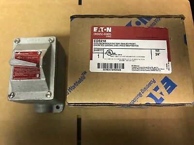 Cooper Crouse-Hinds EDS218 Explosion-Proof General Purpose Switch