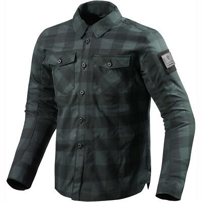 Rev It! Bison Overshirt WP - Black Grey