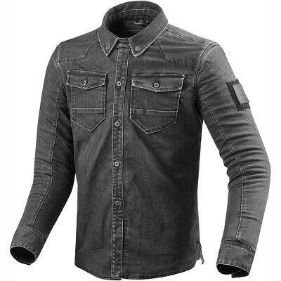 Rev It! Hudson Overshirt - Dark Grey