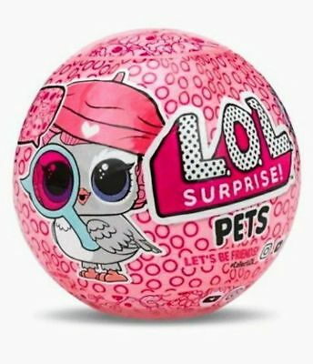 Lol Surprise Pets Series 4 Eye Spy Pet Decoder Ball Doll