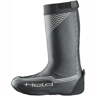 Held 8757 Boot Skin Overboots Long WP - Matt Black