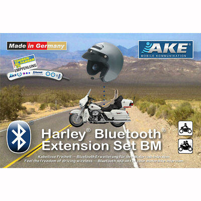AKE Stealth Bluetooth Extension Set for Harley Davidson - For Third-Party Heads