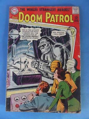 Doom Patrol 86 1964 1St Doom Patrol In Own Title! Origin!