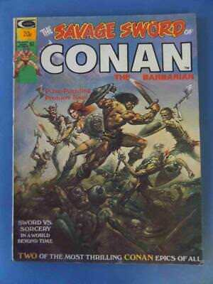 Savage Sword Of Conan 1 1974 Barry Smith Boris Cover!