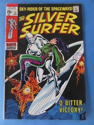 Silver Surfer 11 1969 Classic 'o, Bitter Victory!' Nice!
