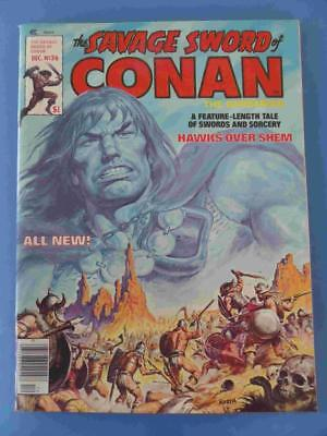 Savage Sword Of Conan 36 1978 Lovely Fresh High Grade! Vf/nm