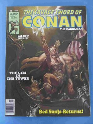Savage Sword Of Conan 45 1979 Lovely Fresh High Grade!
