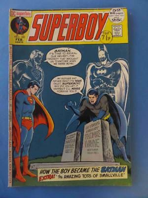 Superboy 182 1972 52 Pages! Classic Batman Cover! Nice!