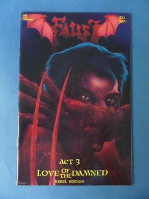 Faust Vol 2 3 Love Of The Damned Tim Vilgil Nm- Adults!