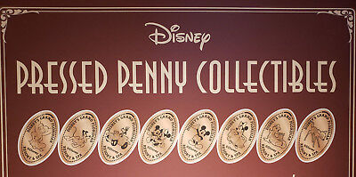 Walt Disney World Pressed Smashed Elongated Penny Grand Floridian 8 pc set P81