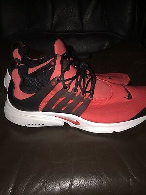 b83b15be3b7c Nike Air Presto Essential Running Shoes Red Black 848187-600 Men s Size 13  NWOB