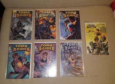 Tomb Raider Comic Lot 1/2 4 6 7 8 9 Gallery Excellent Top Cow