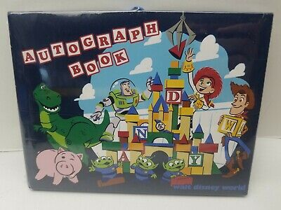 Disney Parks Toy Story Land Pixar Autograph Book Authentic NEW SEALED WITH TAG