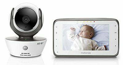 Motorola MBP854CONNECT Dual Mode Baby Monitor with 4.3-Inch LCD Parent and Wi-Fi