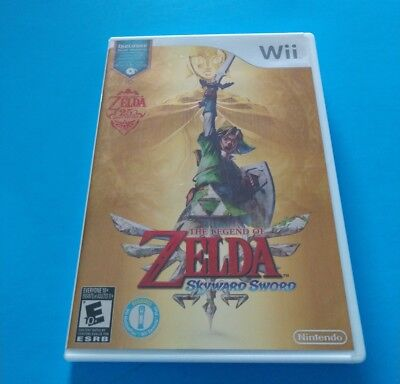 The Legend of Zelda: Skyward Sword,  Music CD & Booklet Included Exc. Condition
