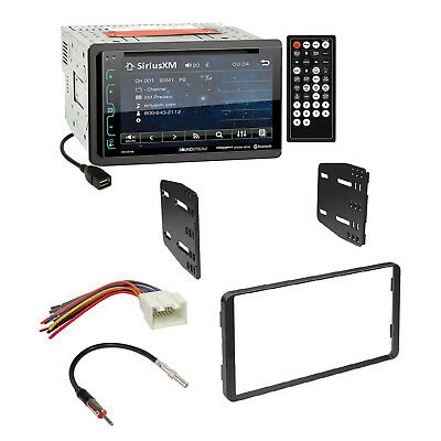 Soundstream Car Radio Bluetooth Dash Kit Harness For 95-11 Ford Lincoln on
