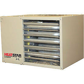 Heatstar Natural Gas Unit Heater  HSU125NG, 125000 BTU, 120V with Propane Gas