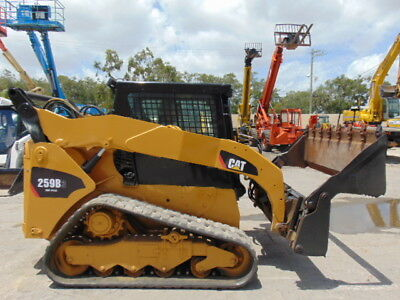 """2012 Cat 259B-3 Turbo 2 Speed  """"ice Cold A/c""""  4-In-1 Bucket - Hydraulic Coupler"""