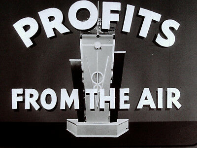 """1937 Ford """"Profits From the Air"""" Sales filmstrip transferred to DVD"""