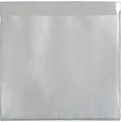 12 x Self Adhesive Backed Windscreen Ticket Holder for Parking Permit  90 X 90mm