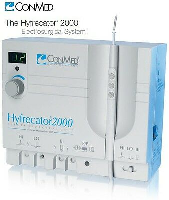 NEW ! Conmed Hyfrecator 2000 Electrosurgical Unit / Dessicator, 230V, 7-900-230