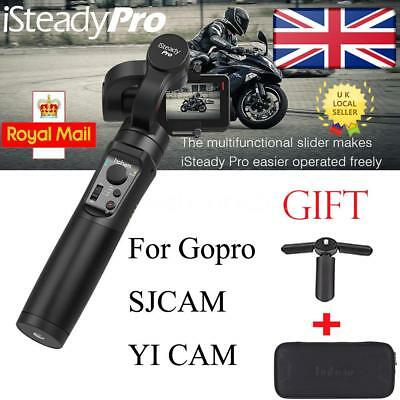 Isteady 3-Axis Handheld Gimbal Stabilizer Timelapse For Gopro 7/6/5 Yi Cam Sjcam