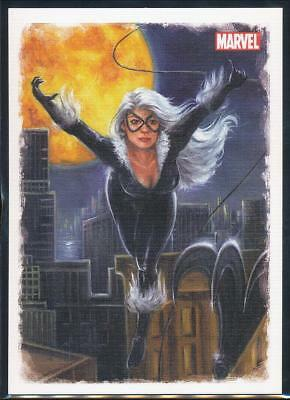 2009 Spider-Man Archives Allies Trading Card #A1 Black Cat