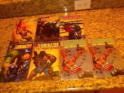 Terminator Enemy Within Comic set 1-2-3-4x2 End Game #1 & 2 lot 7 comics F-- VF