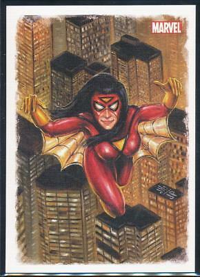 2009 Spider-Man Archives Allies Trading Card #A9 Spider-Woman