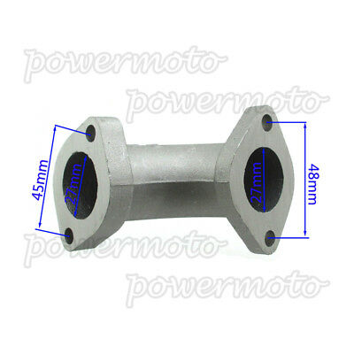 27mm Intake Pipe For ZL-174 For 125cc 140cc 150cc 160cc Pit Dirt Bike