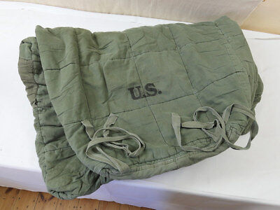 Vintage Armee Schlafsack Typ US Army M-1945 mountain sleeping bag