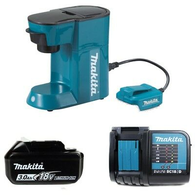 Makita Dcm500z 1 Cups Coffee Maker Blue With 1 X 3amp