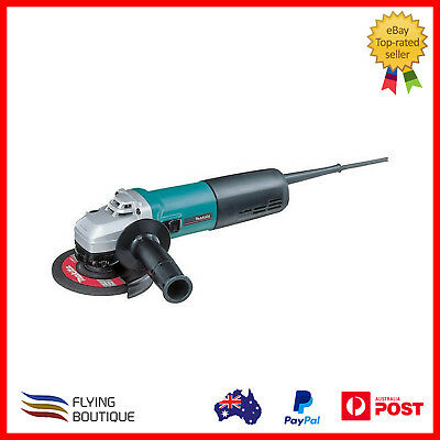 Makita 9565CV 1400W 125MM Corded Variable Speed Tool Less Angle Grinder New