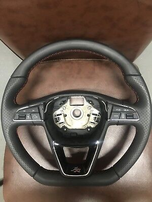 2018 Seat Leon Fr Flat Bottom Multifunctional Steering Wheel  575419091H