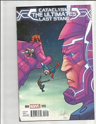 Cataclysm The Ultimates Last Stand (2015) 1:50 VARIANT!!  SCARCE!! MILES MORALES