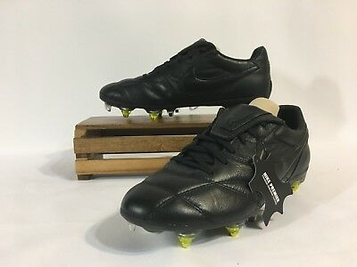 release date: 65f2d 32a4e Nike Premier II SG Pro AC Soccer Cleats Kangaroo Leather Black Volt  921397-003