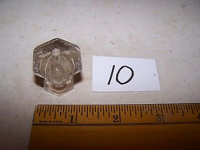 Antique Vintage Glass Knob - Pull - Handle Door / Drawer #10