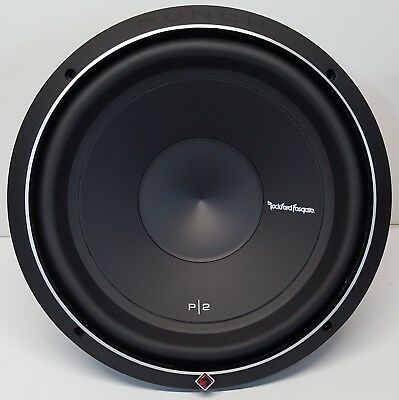 "Rockford P2D4-12 Punch P2 Car 12"" 800W Subwoofer dual 4-ohm voice coils NEW#"