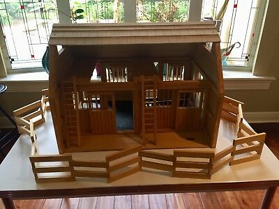 deluxe traditional barns online breyer toys wood barn wooden farm series horse