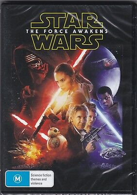 Star Wars - The Force Awakens - DVD (Brand New Sealed) Region 4 PAL