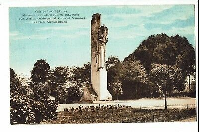 CPA - Carte postale - FRANCE - Laon - Monument aux morts- S832